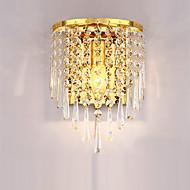 créatifs conduit appliques en cristal k9 modernes avec lampe de chevet salon commutateur chambre à coucher couloir escalier luminaire