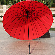 Couleur Assortie Ombrelle pliable Ombrelle / Ensoleillé et Rainy / Parapluie Métallique / Textile / SilikonPoussette / enfants / Voyage /