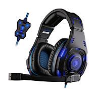Sades SA-907 Sluchátka (na hlavu)ForPřehrávač / tablet / PočítačWiths mikrofonem / DJ / ovládání hlasitosti / FM rádio / Hraní her /