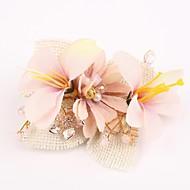 Ženy Pryskyřice Látka Přílba-Svatba Zvláštní příležitost Hřebeny na vlasy Květiny Jeden díl