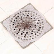 15pcs台所使い捨てドレインステッカーヘアフィルター床排水シンクバスルームには、紙のドレインストッパーホームクリーニングのクリーニング