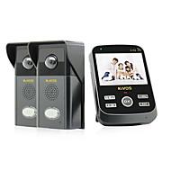 kivos® kdb303 Visual campainha casa de campainha controle remoto chamada de telefone sem fio da câmera