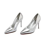 Homme-Décontracté-Noir / Rose / Argent / Or / Café-Talon Aiguille-Talons / Bout Pointu / Bout Fermé-Chaussures à Talons-Similicuir