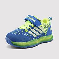 Sneakers-Tyl / PU-Komfort / Rund tå / Fladsko-Unisex-Rosa / Orange / Marineblå-Udendørs / Hverdag / Sport-Flad hæl