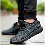 Men's Sneakers Summer Flats Canvas Athletic Flat Heel Others Black / Green / Gray Sneaker