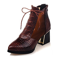 Women's Shoes Boots Spring/Fall/Winter Heels/Platform/Fashion Boots/Bootie/Pointed Toe Office Career/Dress/Casual