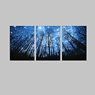 LED Canvas Art Landscape Modern Traditional,Three Panels Horizontal Print Wall Decor For Home Decoration
