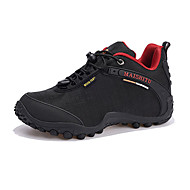 Women's Sneakers Spring / Fall Round Toe PU Athletic Flat Heel Others / Lace-up Black / Purple / Red Sneaker