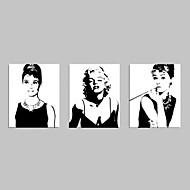 visuaalinen star®audrey Hepburn Canvastaulu Marilyn Monroe tähden sisustuksessa taidetta