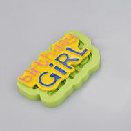 Girl birthday cakes image silicone mold decoration tools for birthday cake fondant cake chocolate mold