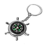 מצפן גלגל הגה סירת ziqiao מחזיק מפתחות טבעת מתנת מסגסוגת אבץ במחזיק מפתחות מחזיקים מפתחות חידוש