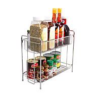 Double Lays Storage Rack for seasoningbottleshousehold products