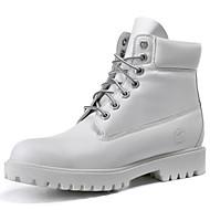 Boty-Kůže-Jezdecké boty-Pánské-Černá Žlutá Bílá-Outdoor Kancelář-Plochá podrážka