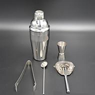 Novi koktel martini shaker mix Komplet od nehrđajućeg čelika bar strane alat 5kom 750ml