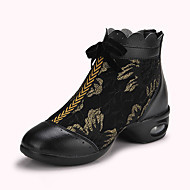 Non Customizable Women's Dance Shoes  /Lace Dance Sneakers / Modern Sneakers Flat HeelProfessional /