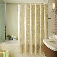 180*200cm Elegant Style  Design Waterproof Bathroom Fabric Shower Curtain