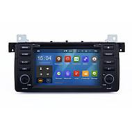 7 android 5.1.1 quad core 1024 * 600 bil dvd gps stereo navigering för BMW E46 m3 318i 320i 325i 328i