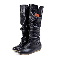 Women's Boots Fall / Winter Snow Boots / Gladiator / Comfort / Shoes & Matching Bags LeatheretteWedding /