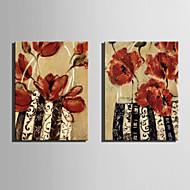 Stilleben / Botanisk Canvastryck Två paneler Redo att hänga,Vertikal