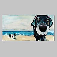 Handgemalte Abstrakt Landschaft Tier Abstrakte Landschaft Horizontal,Modern Europäischer Stil Ein Panel Leinwand Hang-Ölgemälde For Haus