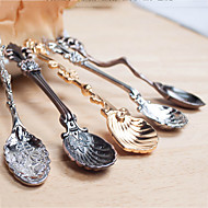 Decorative Dessert Spoon  Icecream Scoop Stirring Rod Teaspoons Small Vintage Style Random Type
