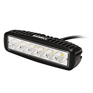 KAWELL 18W 6.2 90 Degree LED for ATV/Jeep/Boat/Suv/Truck/Car/Atvs Light Off Road Light Bar
