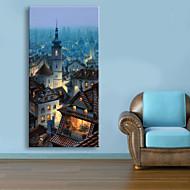 Landschaft Leinwand drucken Ein Panel Fertig zum Aufhängen , Vertikal