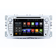 7 2 din Android 5.1.1 lollipop car stereo radio HD 1024 * 600 muti-touch screen gps voor ford focus 2 s-max mondeo