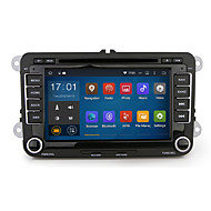 2 din 7Quad core 1024*600 Car DVD Android 5.1.1 GPS navigation for Golf Polo Passat Tiguan Jetta