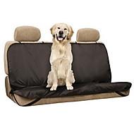 Σκύλος Κάλυμμα Καθίσματος Αυτοκινήτου Κατοικίδια Χαλάκια & Μαξιλαράκια Μονόχρωμο Αδιάβροχη Πτυσσόμενο Μαύρο
