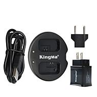 kingma® dual punjač + USB zidni punjač za Sony NP-fw50 baterije alfa 7 A7 7s a6000 NEX-3N NEX-n SLT-A33 baterije