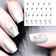 diy ontwerper water transfer nagels art sticker / nail water stickers / nail stickers accessoires
