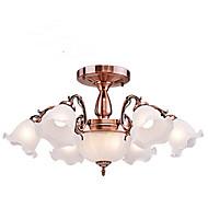 Takplafond ,  Traditionel / Klassisk galvanisert Trekk for Mini Stil Metall Stue Soverom Spisestue