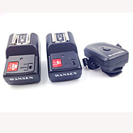 4-in-1 4-Channel 433MHz Wireless Remote Flash Trigger Set for Canon / Nikon / Pentax Camera