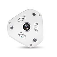 LEKEMI 360 degree Panoramic Fisheye IP Camera WiFi HD 960P Motion Detection Home Office Wireless System