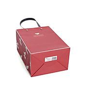 dois Borgonha 24 centímetros * sacos de papel 13 centímetros * 31 centímetros de embrulho grandes por embalagem