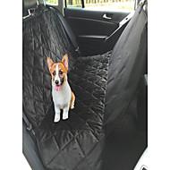 Cachorro Cobertura de Cadeira Automotiva Animais de Estimação Capachos e Alcochoadas Prova-de-Água Dobrável Preto Castanho Felpudo