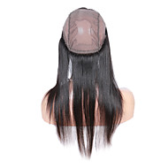 360 Lace Band Frontal Closures Straight Ear To Ear Lacel Closures With Baby Brazilian Virgin Human Hair Lace Closure