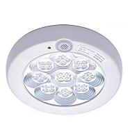 som 7W 6500k pir & interruptor de luz infravermelha de teto controle do corpo da lâmpada (AC220-240V)