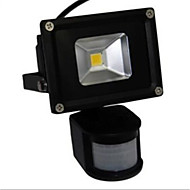 10W LED Flood Light Lamp White Warm Light PIR Sensor(AC85-265V)