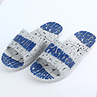 Men's Slippers & Flip-Flops Spring / Summer / Fall Comfort PVC Casual Flat Heel Others Blue / Gray / Coffee Others