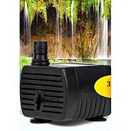 Wasserpumpen / Filter Ohne Lärm Plastik Schwarz 3W 220V ~ 240V