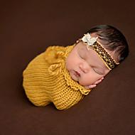 Newborn Prince Vintage Photography Prop Birthday Soft Sleeping Bag