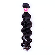 24Inch Natural Wave Hair Remy Human Hair  Weaves Virgin Unprocessed Hair
