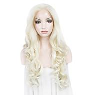 imstyle 26 blond mieszane fala koronki przodu peruk wody