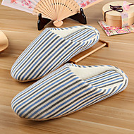 Women's Slippers & Flip-Flops Winter Slingback Cotton Casual Flat Heel Others Blue Brown Others