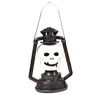 1pc Halloween-Party Requisiten liefert Skelett Kürbis Lampe Musik Lampe Phantomlicht