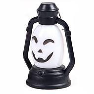 (Mønsteret er tilfeldig) 1 stk halloween dekorasjoner horror ghost lys ledet fargerik lykt gresskar lampe