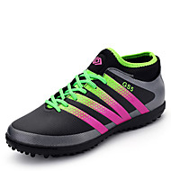 Men's Sport Shoes Futsal Soccer Shoes Outdoor / Athletic Flat Heel Lace-up Black / Silver / Green