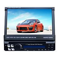 7 tuuman 1DIN LCD kosketusnäyttö digitaalinen paneeli auton DVD-soitin tuki gps.ipod.bluetooth.stereo radio.rds.touch näyttö